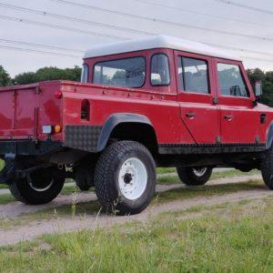 1996 LR lHD D130 300 Tdi Red right rear