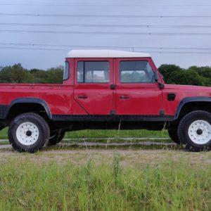 1996 LR lHD D130 300 Tdi Red right side