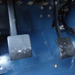 1992 LR LHD Defender 110 3 dr 200 Tdi floorpan driver