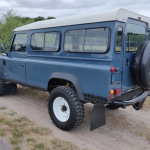 1992 LR LHD Defender 110 3 dr 200 Tdi left rear