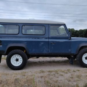 1992 LR LHD Defender 110 3 dr 200 Tdi right side