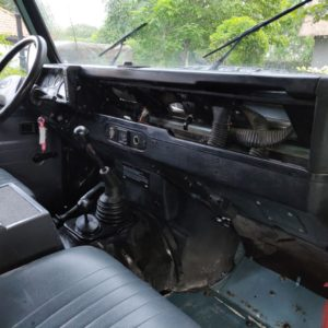 1993 LR LHD Defender 130 Crewcab V8 dash and trim