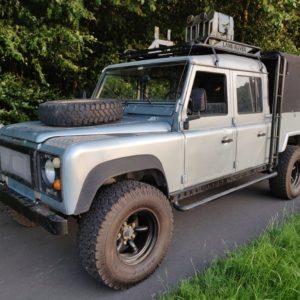 1993 LR LHD Defender 130 Crewcab V8 left front A