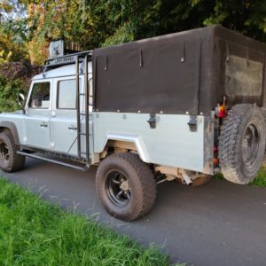 1993 LR LHD Defender 130 Crewcab V8 left rear A