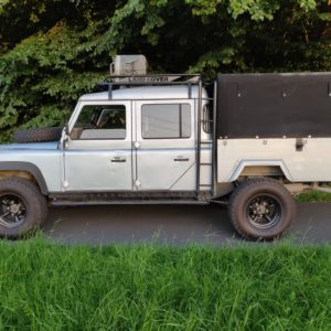 1993 LR LHD Defender 130 Crewcab V8 left side A