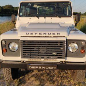 2015 LR LHD Defender 90 2.2 Tdci White front