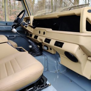 1987 Defender 90 200 Tdi A dash and trim
