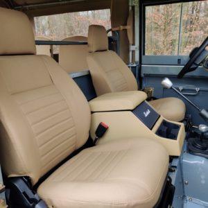1987 Defender 90 200 Tdi A front seats