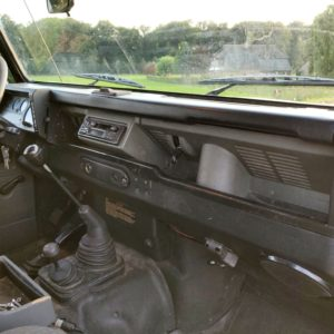 1996 LR LHD Defender 130 Conisten Green dash and trim