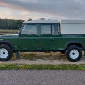1996 LR LHD Defender 130 Conisten Green left side