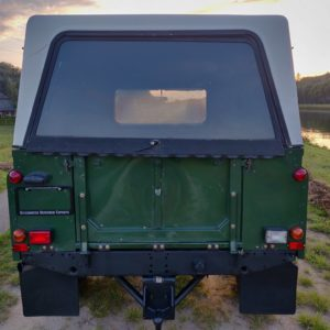 1996 LR LHD Defender 130 Conisten Green rear