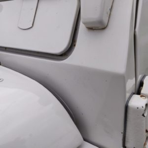 1993 LR LHD Defender 90 200 Tdi White A bulkhead top left