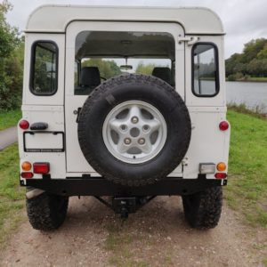 1993 LR LHD Defender 90 200 Tdi White A rear