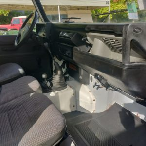 1993 LR LHD Defender 90 200 Tdi White dash and trim