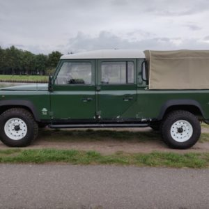 1995 LR LHD Defender 130 300 Tdi Conisten Green left side