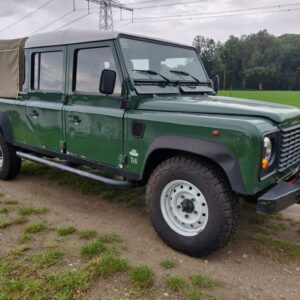 1995 LR LHD Defender 130 300 Tdi Conisten Green right front