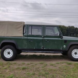 1995 LR LHD Defender 130 300 Tdi Conisten Green right side