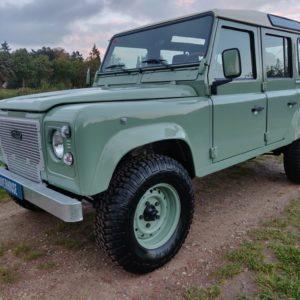 1994 LR LHD Defender 110 300 Tdi A Pastel Green left front