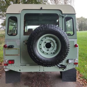 1994 LR LHD Defender 110 300 Tdi A Pastel Green rear