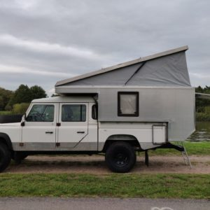 1994 LR LHD Defender 130 300 Tdi CAMPER OPEN left side