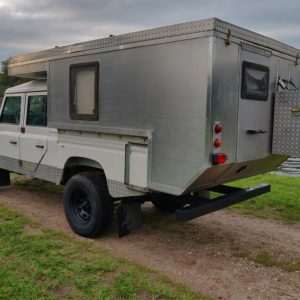 1994 LR LHD Defender 130 300 Tdi CAMPER left rear