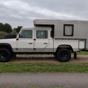 1994 LR LHD Defender 130 300 Tdi CAMPER left side