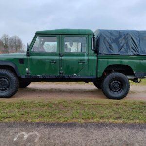 1994 LR LHD Defender 130 Conisten Green 300 Tdi left side