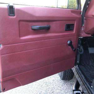 1993 Landrover Defender 110 Silver 200 Tdi interior door card front LH