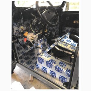 1993 Landrover Defender 110 Silver 200 Tdi stripped, soundproofing