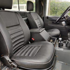 1991 LR LHD Defender 90 200 Tdi Pembroke front seats