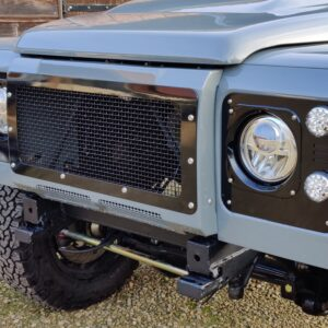 1993 LR LHD Defender 130 day 21 grill close
