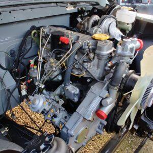 1993 LR LHD Defender 130 day 21 new engine