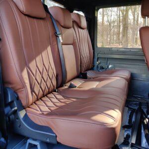 1993 LR LHD Defender 130 day 57 trim PUMA rear seat