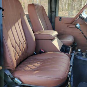 1993 LR LHD Defender 130 day 57 trim front seats