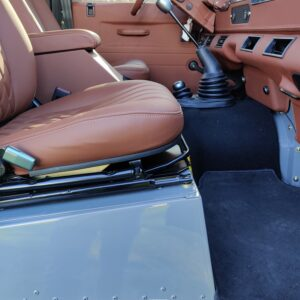 1993 LR LHD Defender 130 day 57 trim seatbase and front seat
