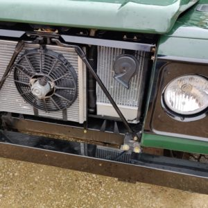 LR LHD 1995 Defender 110 300 Tdi Conisten Green A arico repair new fan