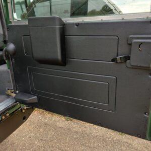 LR LHD 1995 Defender 110 300 Tdi Conisten Green B HARDCOVER rear doorcard