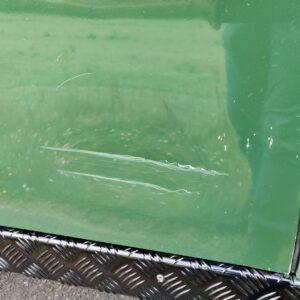 LR LHD 1995 Defender 110 300 Tdi Conisten Green B paint issues scratch left rear door