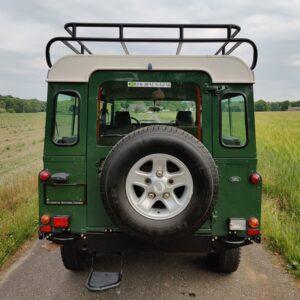 LR LHD 1995 Defender 110 300 Tdi Conisten Green B rear