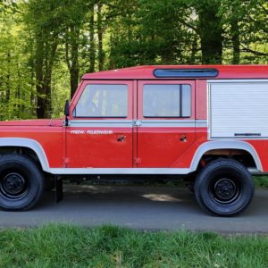 1985 LR LHD Defender 110 V8 8500 km 1 no logo left side