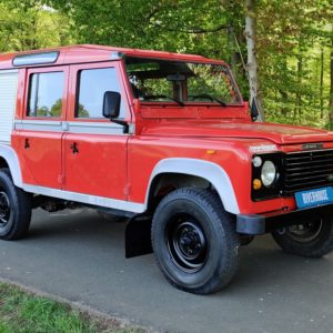 1985 LR LHD Defender 110 V8 8500 km 1 no logo right front