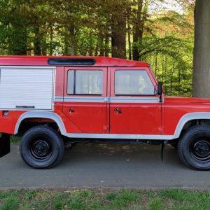 1985 LR LHD Defender 110 V8 8500 km 1 no logo right side
