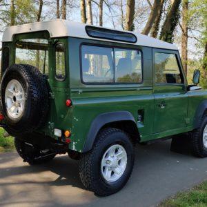 1993 LHD Defender 90 Conisten Green 200 Tdi A right rear