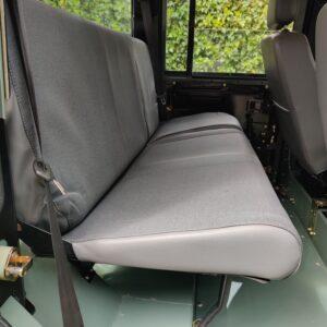 1994 LR LHD Defender 110 300 Tdi Keswick day 17 2nd row seat complete