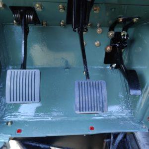 1994 LR LHD Defender 110 300 Tdi Keswick day 5 bulkhead floor left