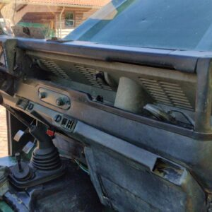 1994 LR LHD Defender 110 300 Tdi 3 dr Autobiography stripped dash and trim