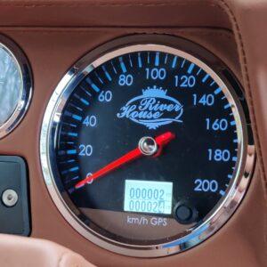 1994 LR LHD Defender 110 Autobiography A GPS driven Speedo