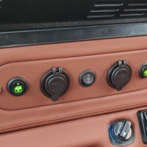 1994 LR LHD Defender 110 Autobiography A dash switch panel