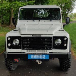 2004 LR LHD Defender 130 Td5 White A front