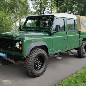 1995 LR LHD Defender 130 300 Tdi Conisten Green left front
